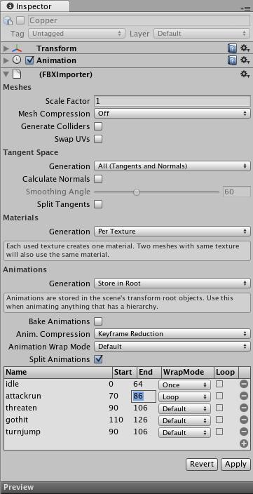 Unity - Animations