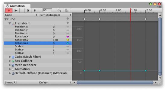 Unity - Using Animation Curves