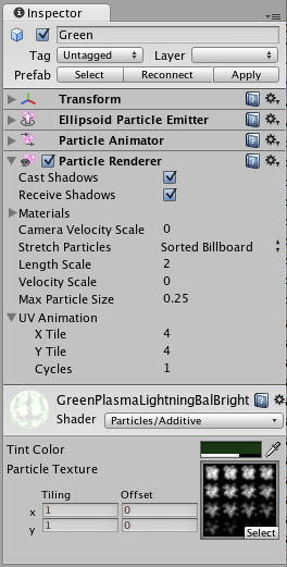 Unity - Particle Renderer