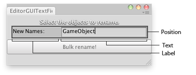 Unity Script Reference – EditorGUI TextField