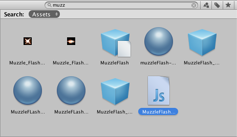 Unity - Manual: The Project Window