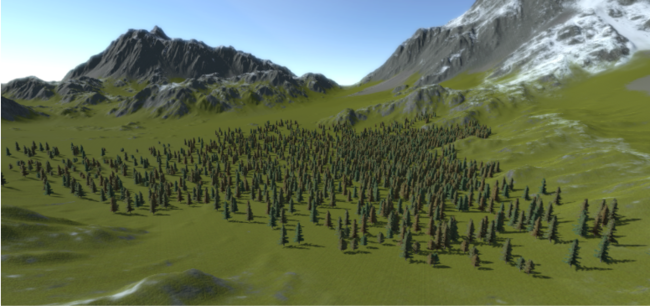 Unity - Manual: SpeedTree/LOD Trees