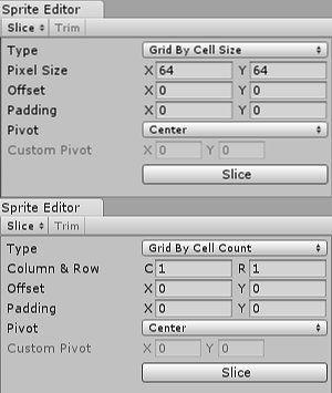 Unity - Manual: Sprite Editor